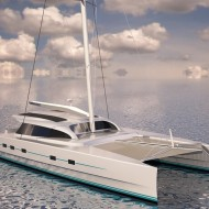 In Production: The M60 Full Carbon High Performance Sailing Catamaran