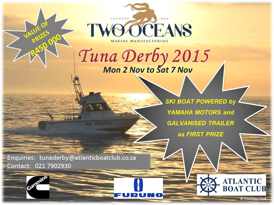 Two Oceans Tuna Derby Poster 2015