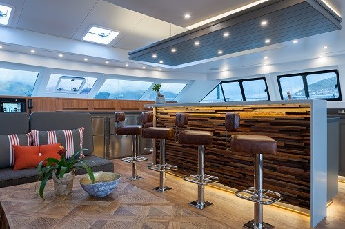 The Open Ocean 800 Luxury Expedition Catamaran in Prestige Magazine