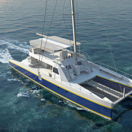 In production: The Balance 690 Day Charter Catamaran