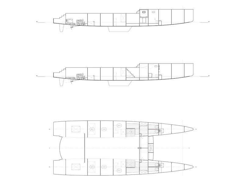 Two Oceans Marine Balance 690 Day Charter Catamaran