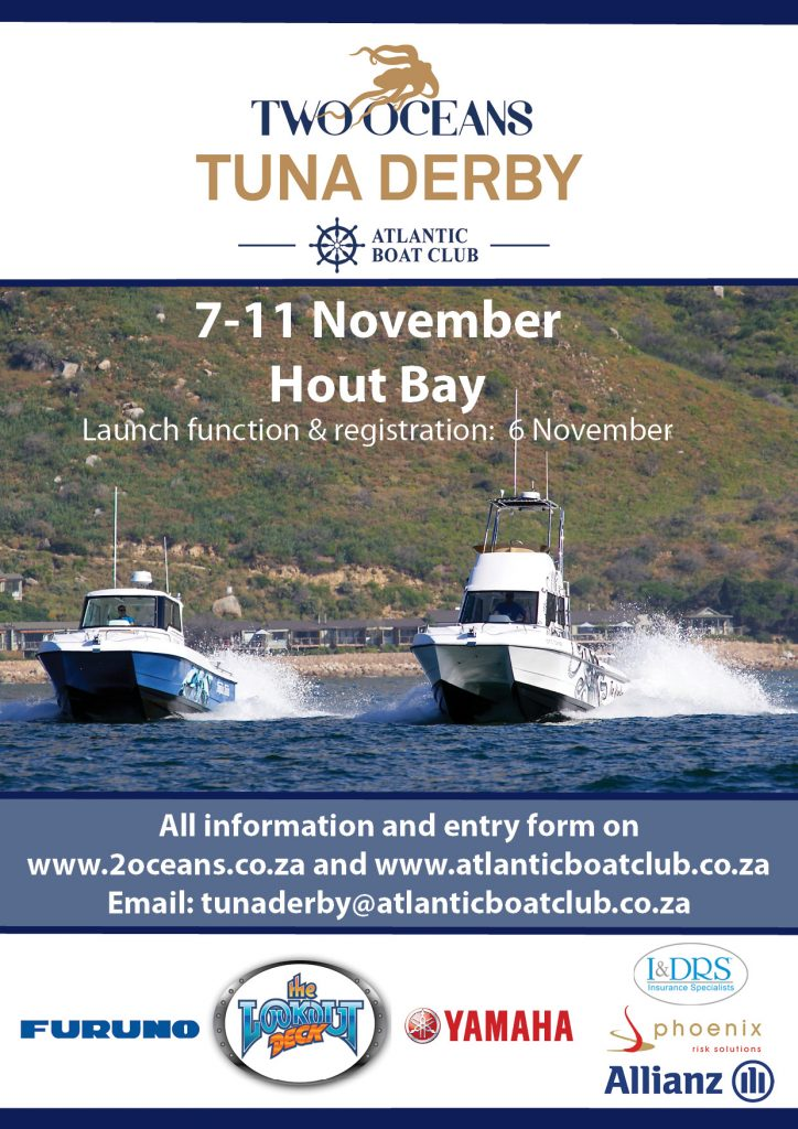 Two Oceans Tuna Derby 2017 Poster Ad