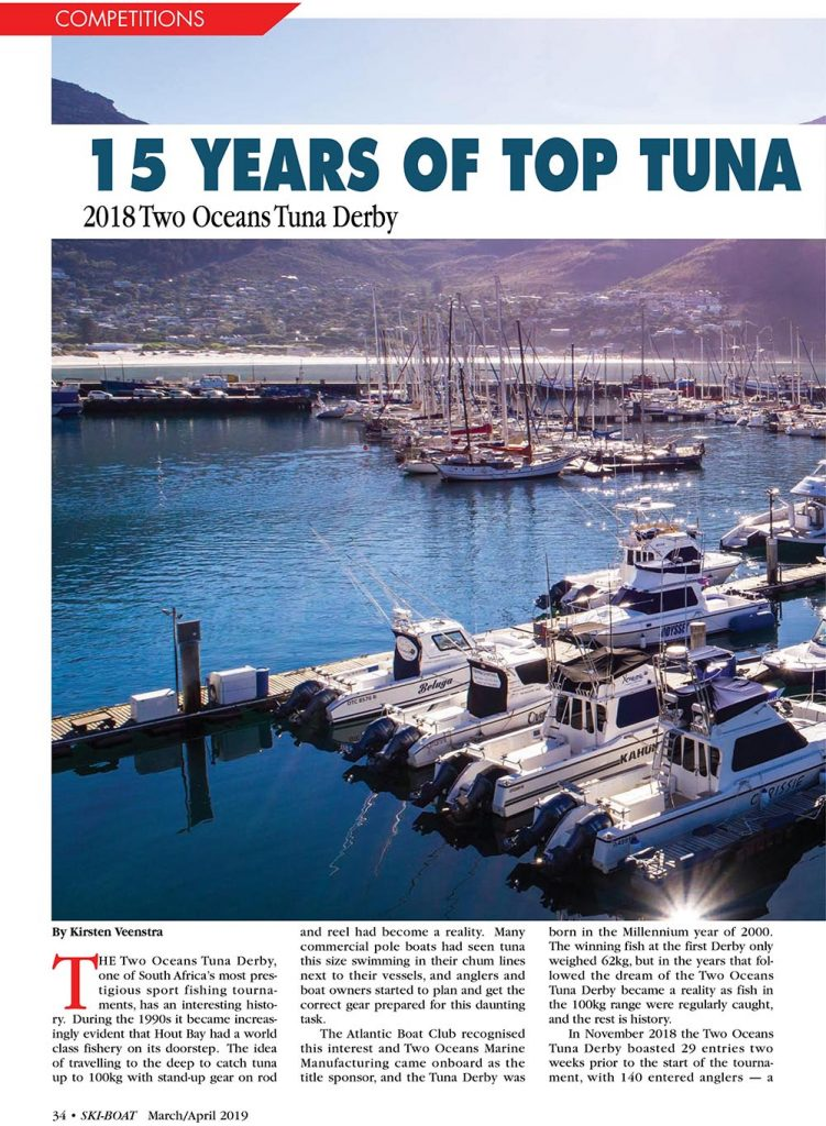 Two Oceans Tuna Derby 2019