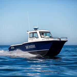 Magnum 2750 Power Catamaran Walkaround Model