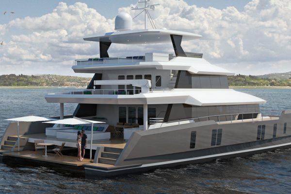 Two OCeans 870 Power Catamaran